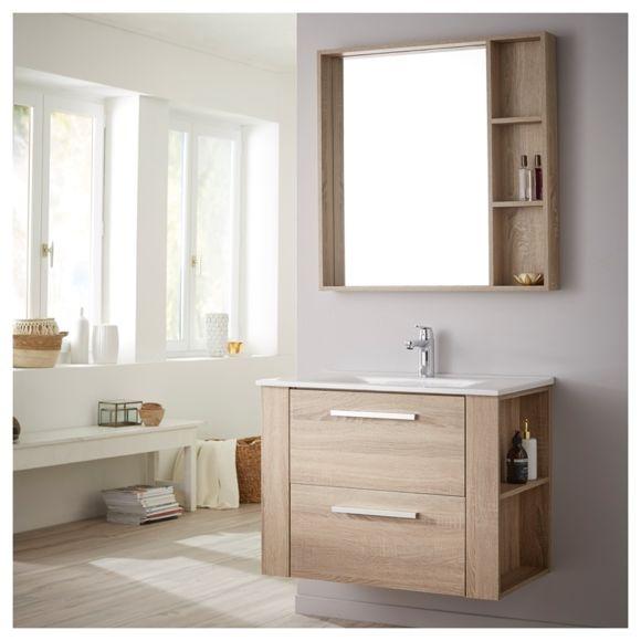 meuble salle de bain miroir