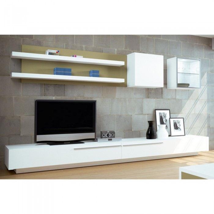 meuble tv bas long