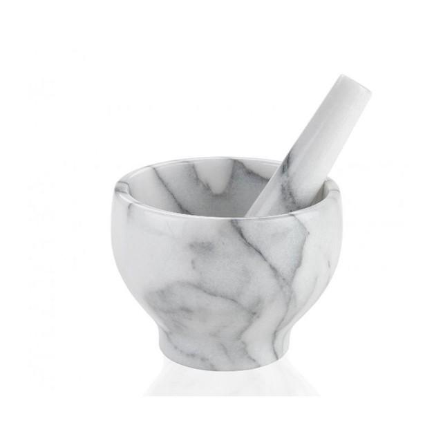 mortier et pilon en marbre