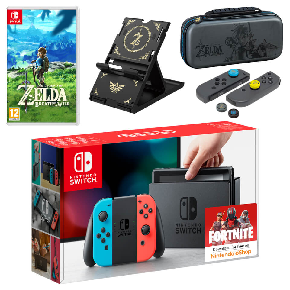 nintendo switch zelda pack
