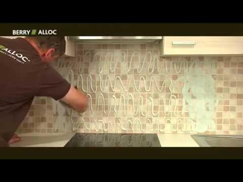 panneau mural cuisine