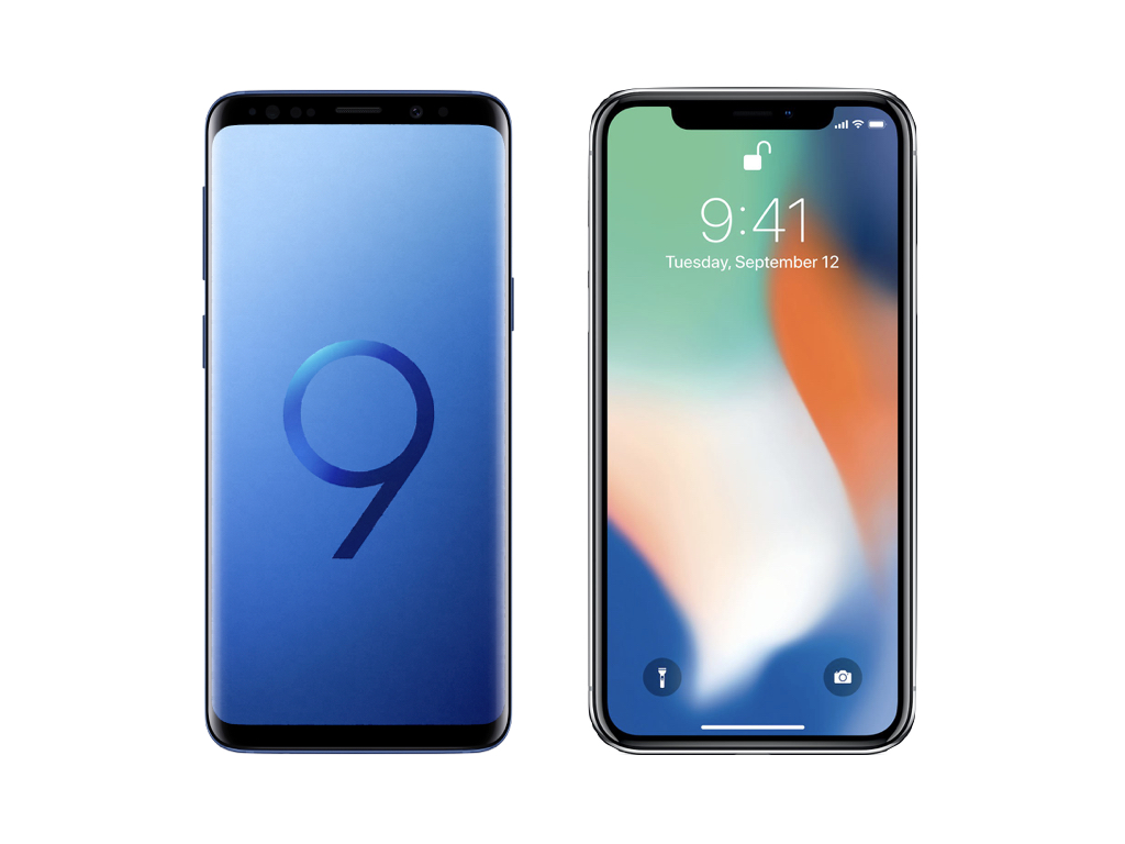 samsung ou iphone