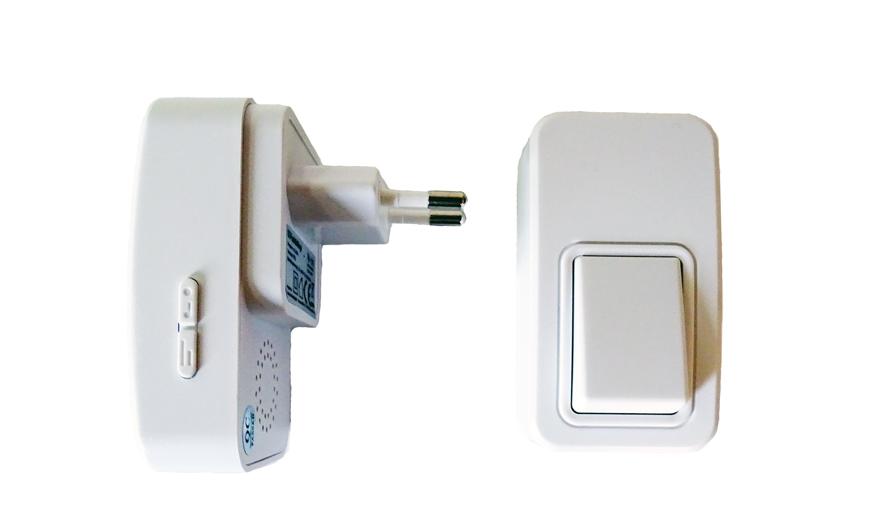 sonnette sans fil sans pile