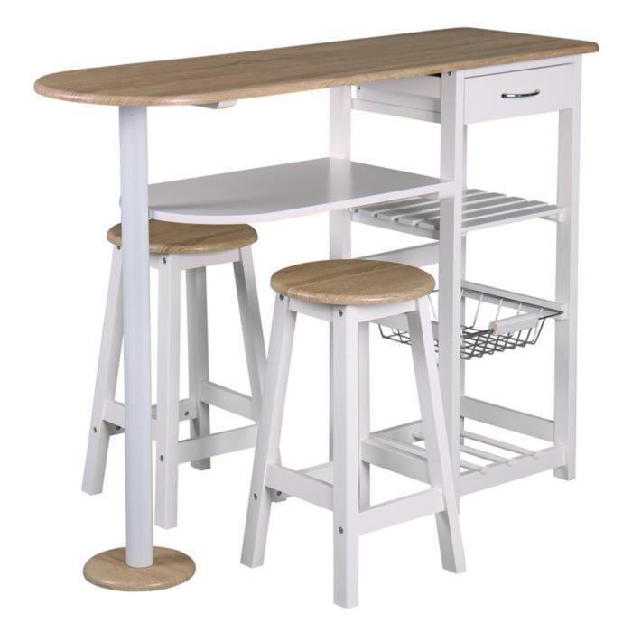 table bar et tabouret
