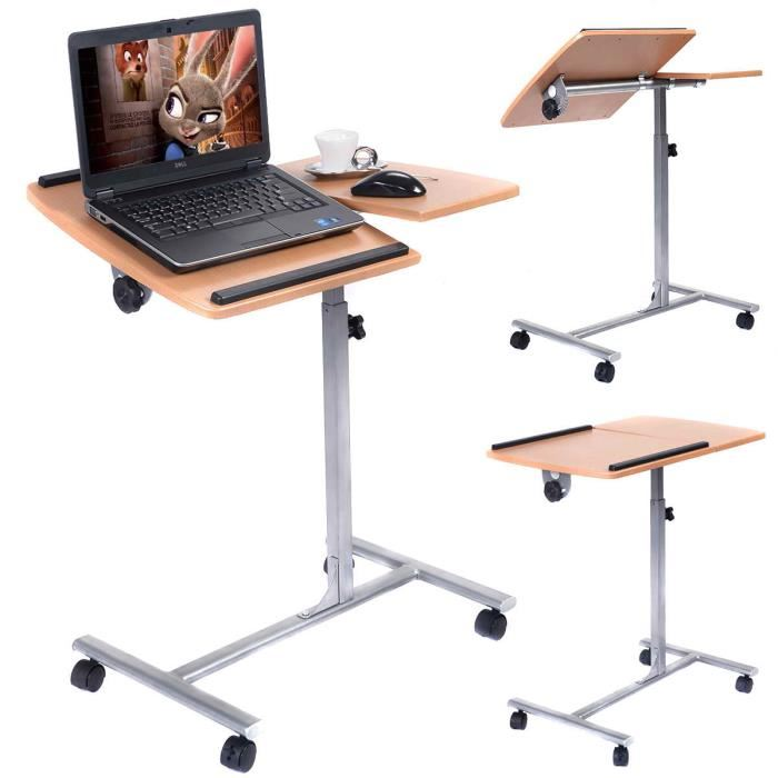 table pour pc portable