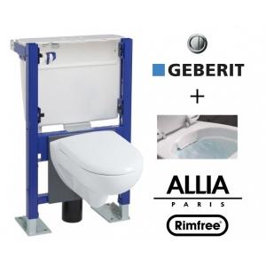 wc geberit suspendu