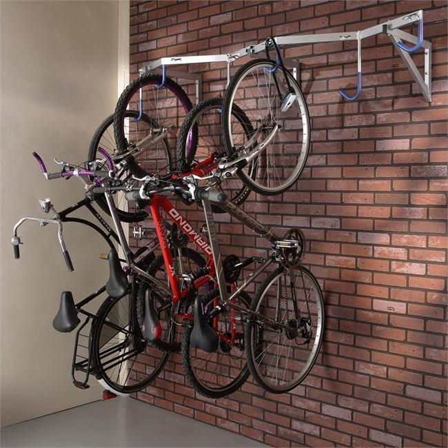 accroche vélo mur