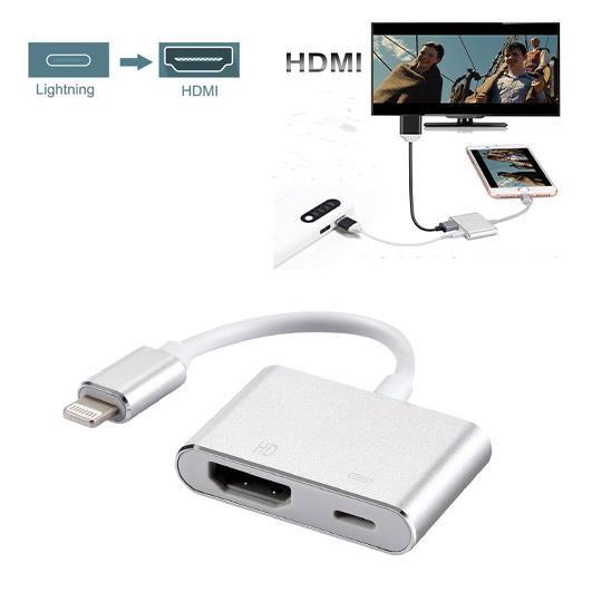 adaptateur iphone hdmi