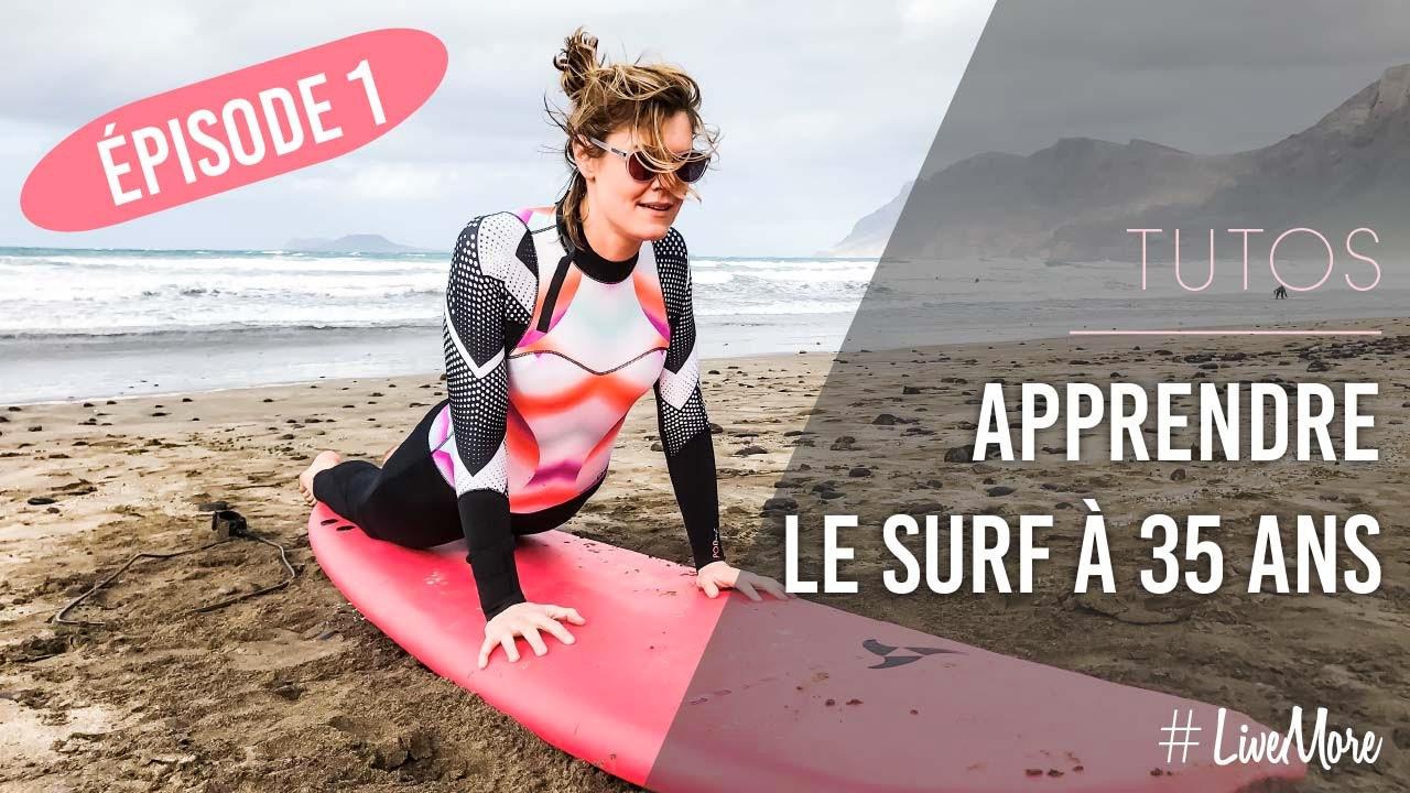 apprendre le surf