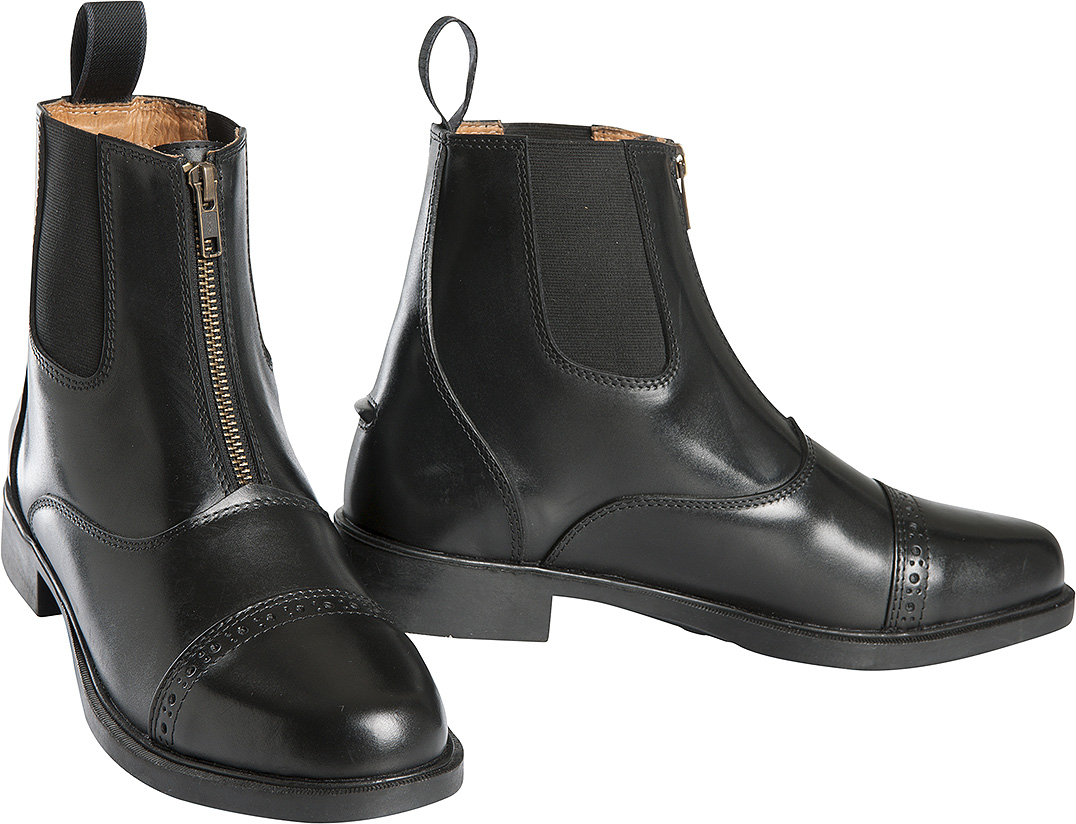 boots equitation cuir
