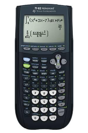 calculatrice ti 82 advanced