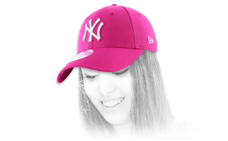 casquette femme ny