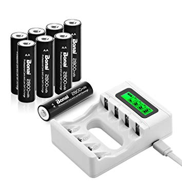 chargeur piles rechargeables