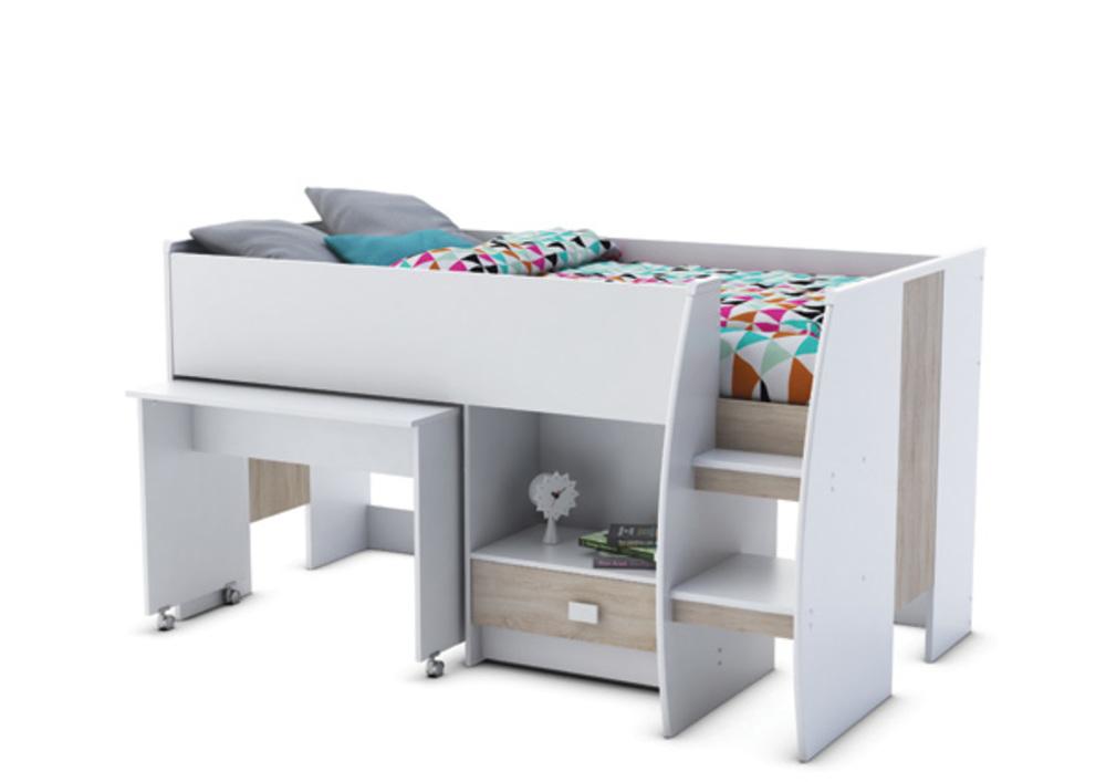 combiné lit bureau