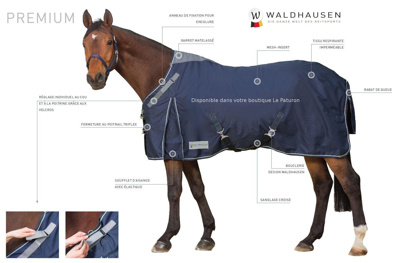 couverture cheval hiver