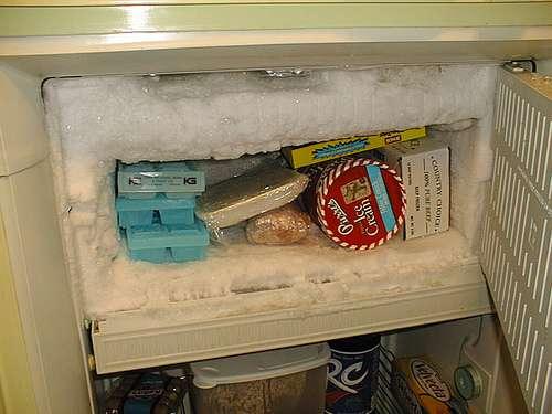 dégivrer frigo