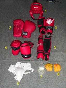 equipement kick boxing