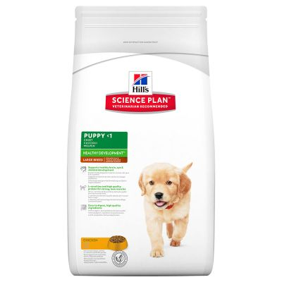 hill's science plan puppy large breed