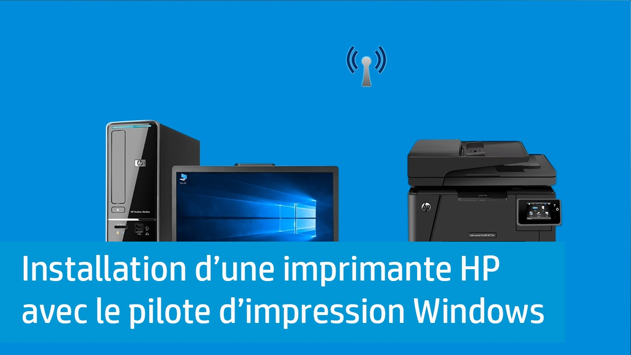 installer imprimante hp