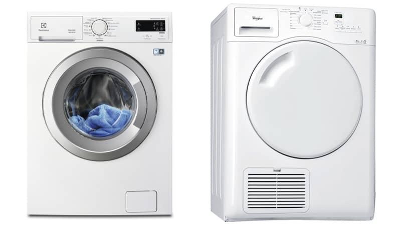 machine à laver et seche linge