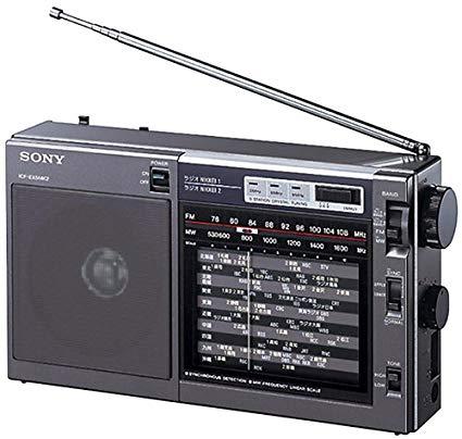 poste de radio sony