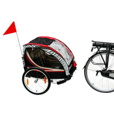remorque vélo pour bébé