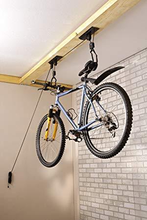 support velo plafond