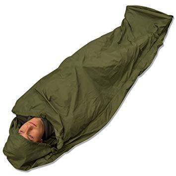 sur sac de couchage