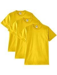 t shirt jaune homme