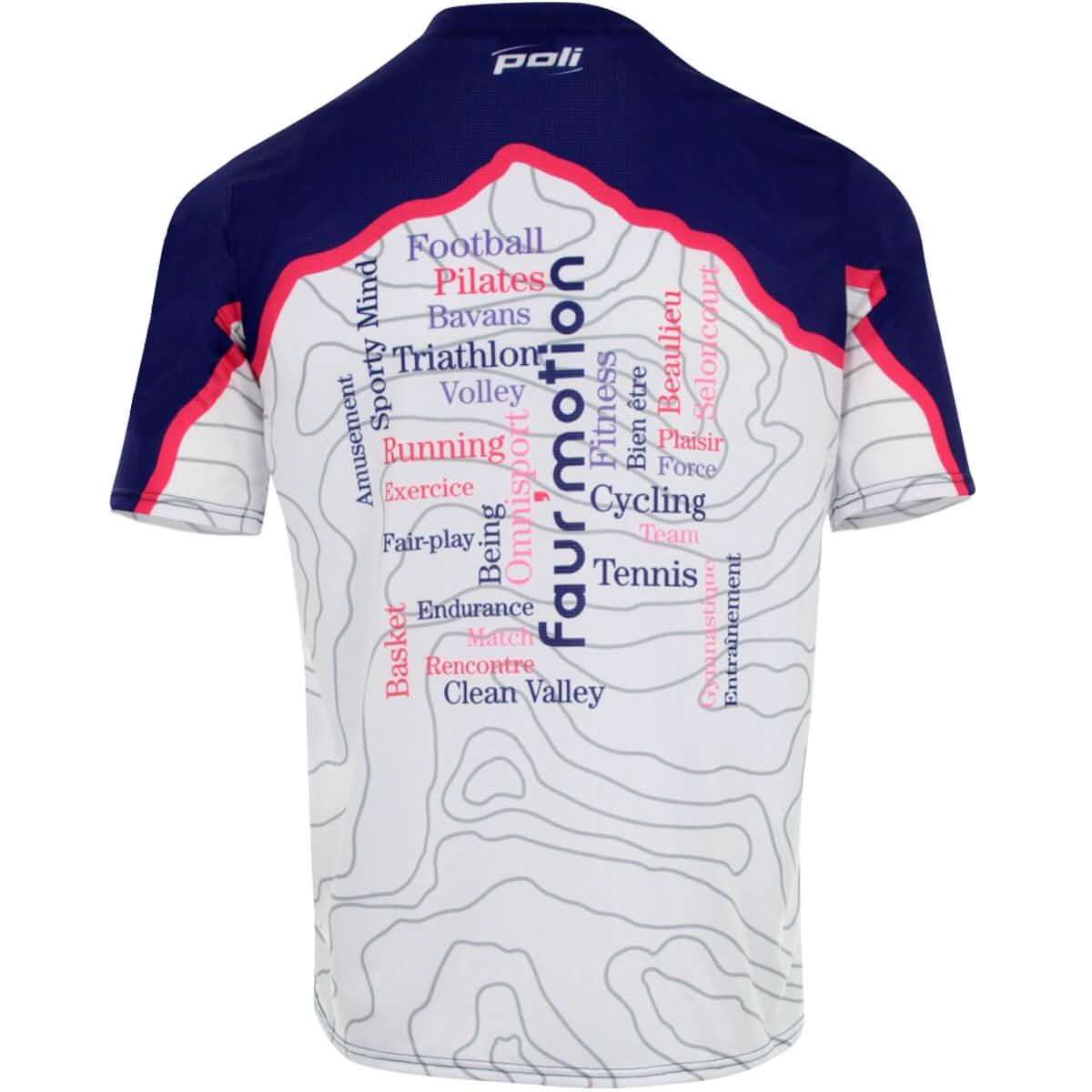 t shirt running personnalisé