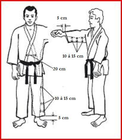 taille kimono