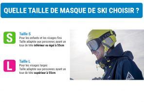 taille masque ski