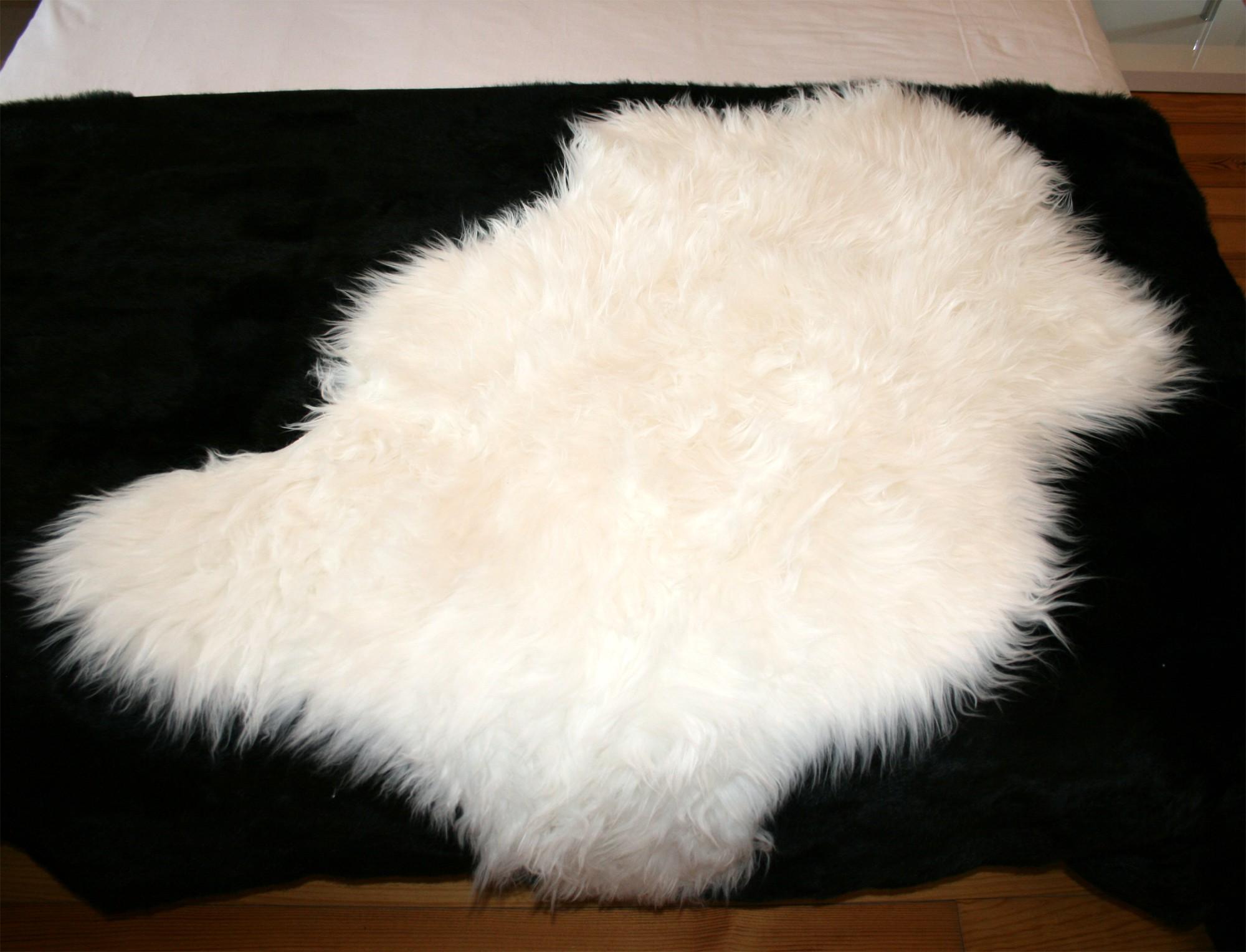 tapis peau de mouton synthétique