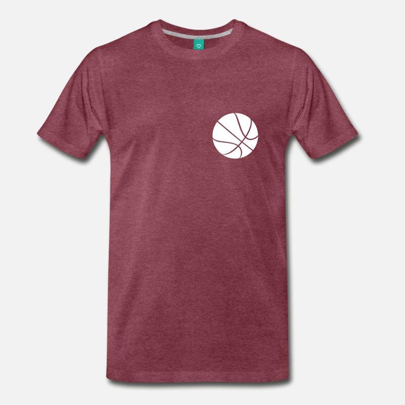 tee shirt de basket