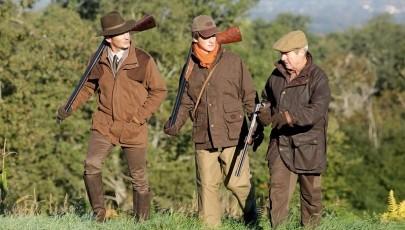 tenue chasse