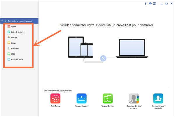 transferer photo iphone sur pc